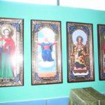 Лазарева суббота, Богослужение в Храме Преподобного Серафима Саровского, села Широкое
