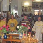 Праздник Воздвижения Честного и Животворящего Креста Господня.